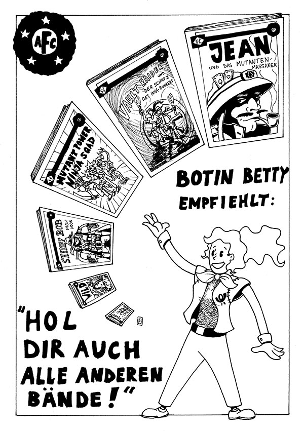 Botin Betty – Rückseite