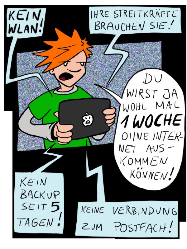 Internetabhängig
