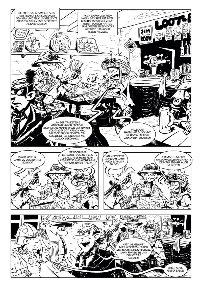 Vault Raiders – Seite 1
