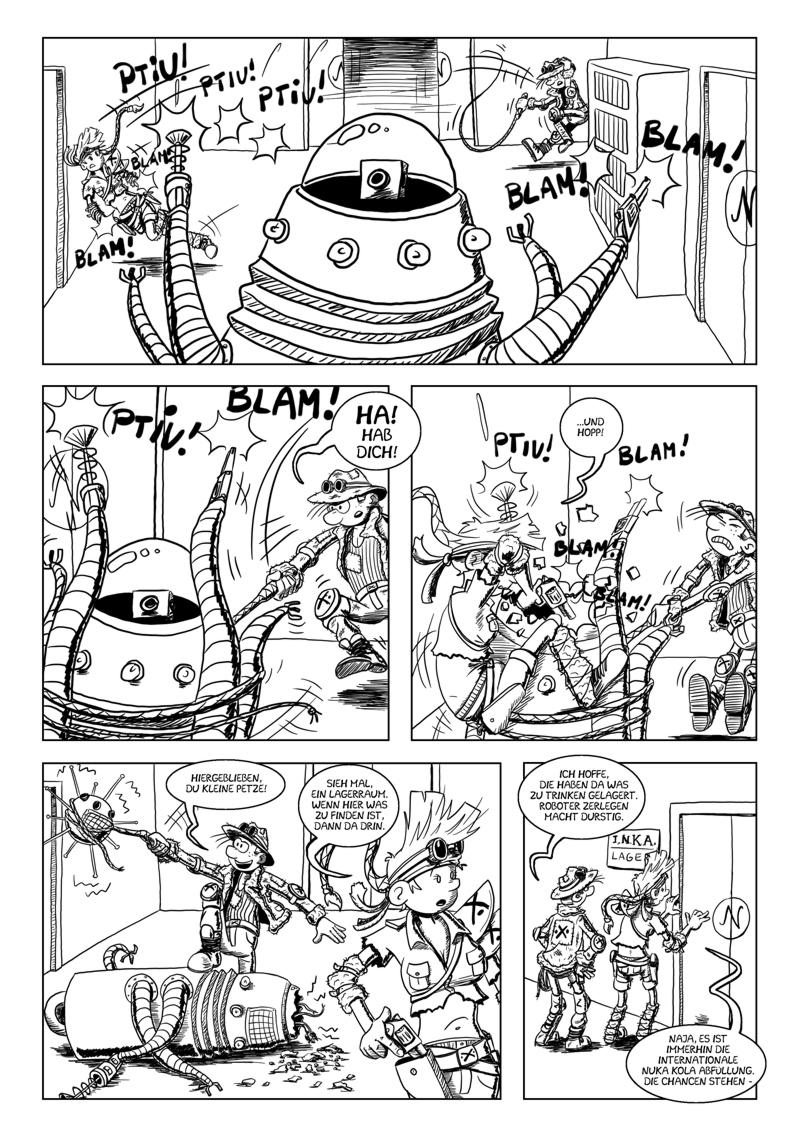 Vault Raiders – Seite 8