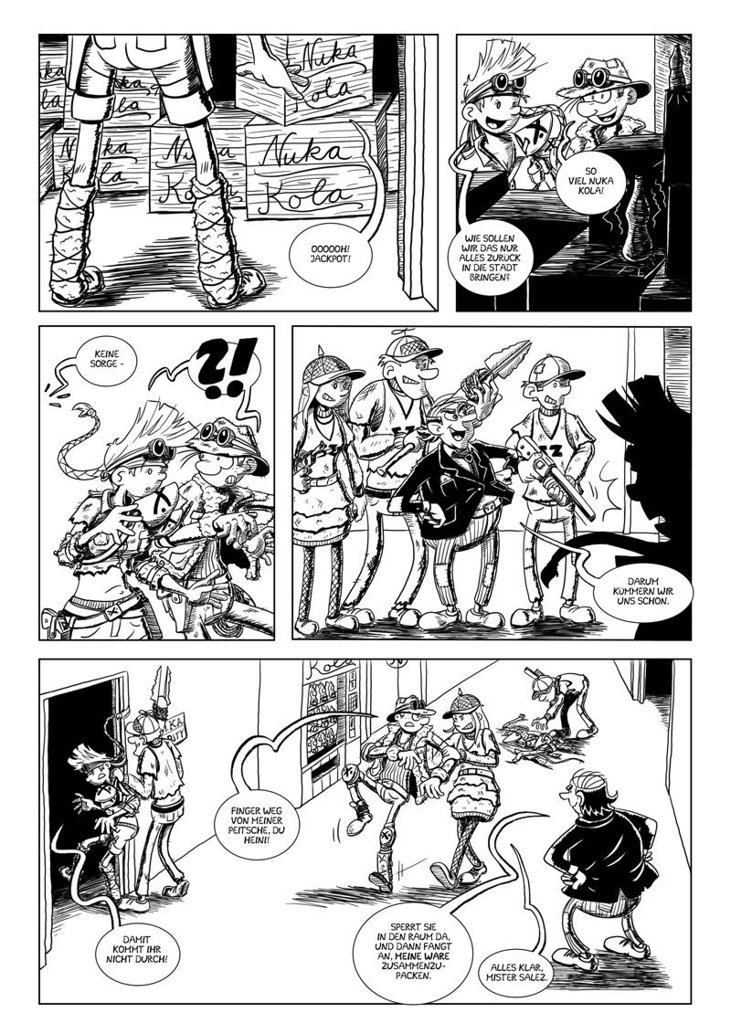 Vault Raiders – Seite 9