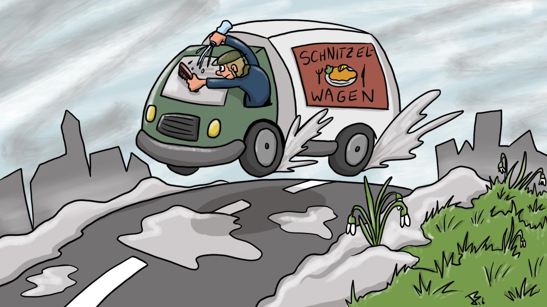 Schnitzelwagen