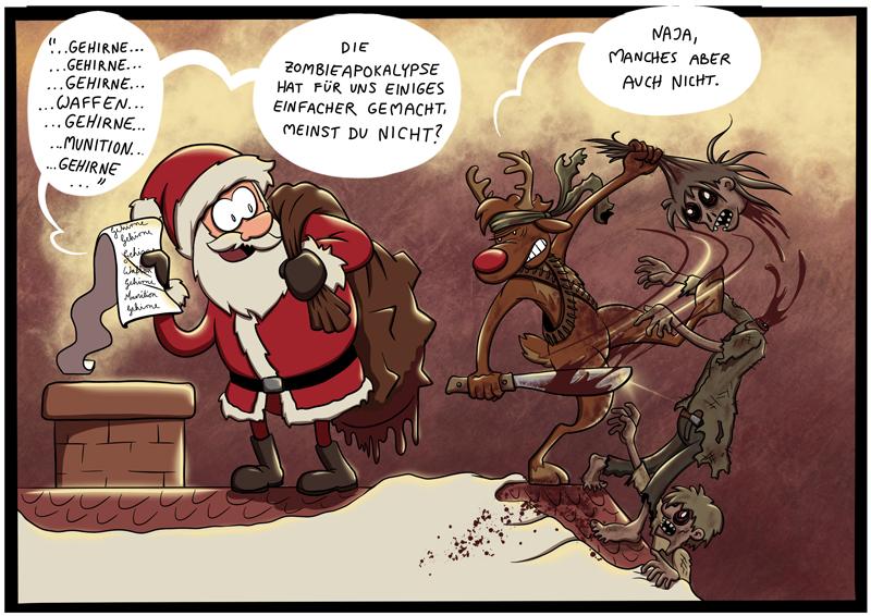 Zombie-Weihnachten