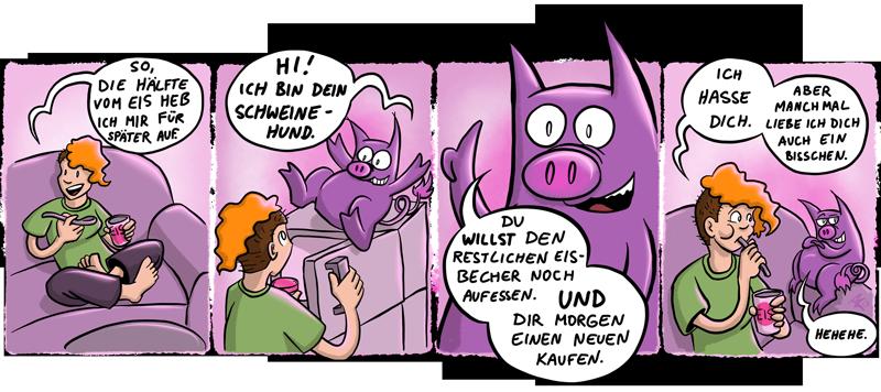 Schweinehund – Eis